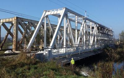 Remont mostu w Ostrowcu Świetokrzyskim