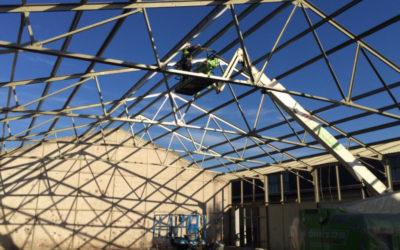 Zabezpieczenie antykorozyjne konstrukcji hal w miejscowości Schiedam